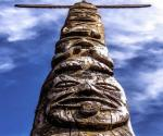 Totem Pole from Art Hatfield Collection